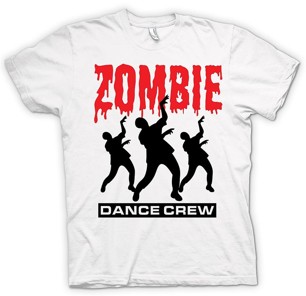 Mens t-shirt - Zombie Dance Crew - Horror divertente