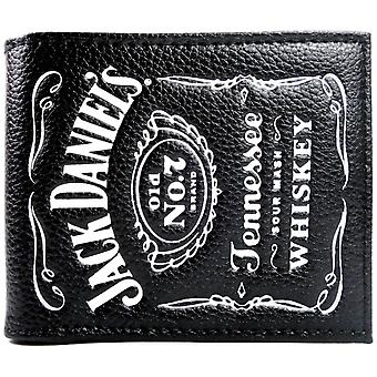 Jack Daniels Tennessee Whiskey Old No.7 Coin & Card Bi-Fold Wallet