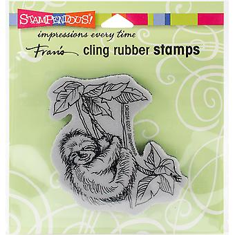 Stampendous Cling Stamp -Sloth Swing