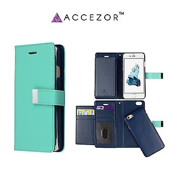 Spacious Wallet case with Removable covers for iPhone 6/6S (Accezor ™ Casey)