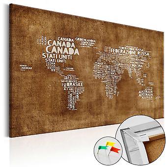 Dekorative Pinboard - tabt kortet (IT) [Cork kort]