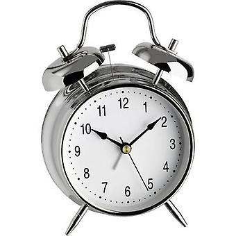 TFA 98.1043 Quartz Alarm clock Silver Alarm times 1