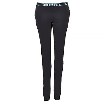 DIESEL Women BABYX PJ Lounge Pant, Black, Large