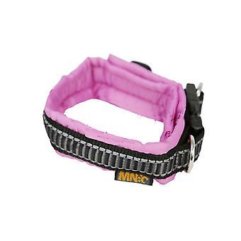Ajustable de Nylon clásico acolchado cuello rosa
