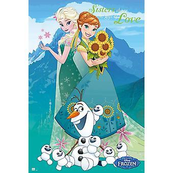 Disney Frozen Forever Poster Poster Print