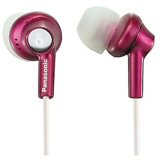 Panasonic RPHJE270P Stereo Earphone with Extra Earpieces - Pink