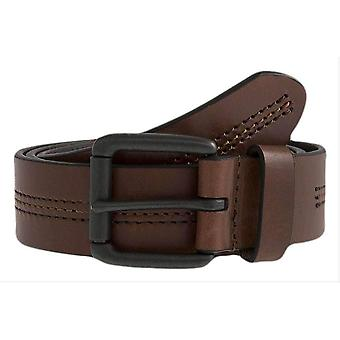 Bucklor Casual Leather Belt - Brown