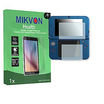 New Nintendo 3DS XL Screen Protector - Mikvon Health (Retail Package with accessories)