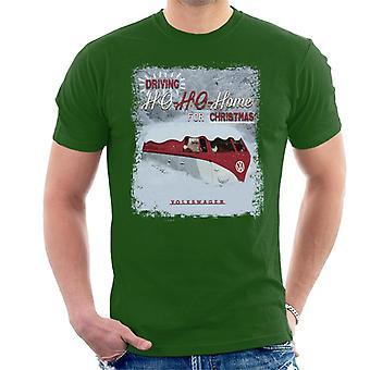 Official Volkswagen Driving Ho Ho Home For Christmas Men's T-Shirt