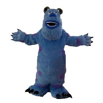 mascot SPOTSOUND of Sully, hairy Blue Monster of monsters and co.