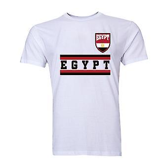 L'Égypte Core Football pays T-Shirt (White)