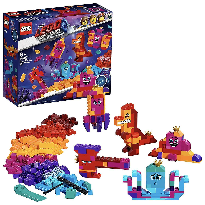 Lego 70825 The Lego Movie 2  Queen Watevra& 039;s Build Whatever Box