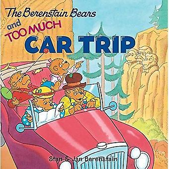 Berenstain Bears och för mycket bilresa med andra (Berenstain Bears (Harper 8 x 8))