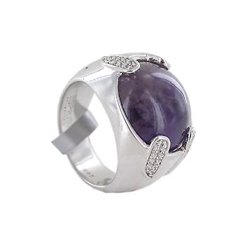 ESPRIT vrouwen ring zilver chione paars ELRG91449A1