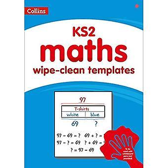 Collins - KS2 torkas ren matematik mallar (Collins)