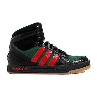 Adidas Court Attitude J zwart/rood / groen-Q32951-basisschool