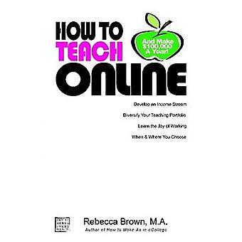 Hur man undervisar Online och göra 100k ett år av Brown & Rebecca