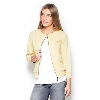 Katrus ladies jacket yellow