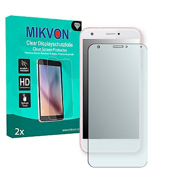 ZTE Blade A512 Screen Protector - Mikvon Clear (Retail Package with accessories) (reduced foil)
