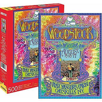 Woodstock 500 piece Jigsaw Puzzle (nm)