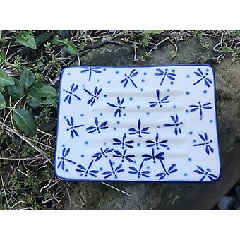 Seifenschale eckig, 12 x 8 cm,  Damselfly, BSN A-0821