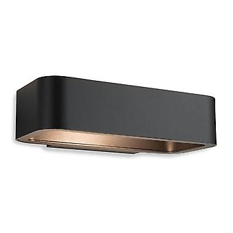 Firstlight-LED 1 luce parete grafite IP54-8669GP