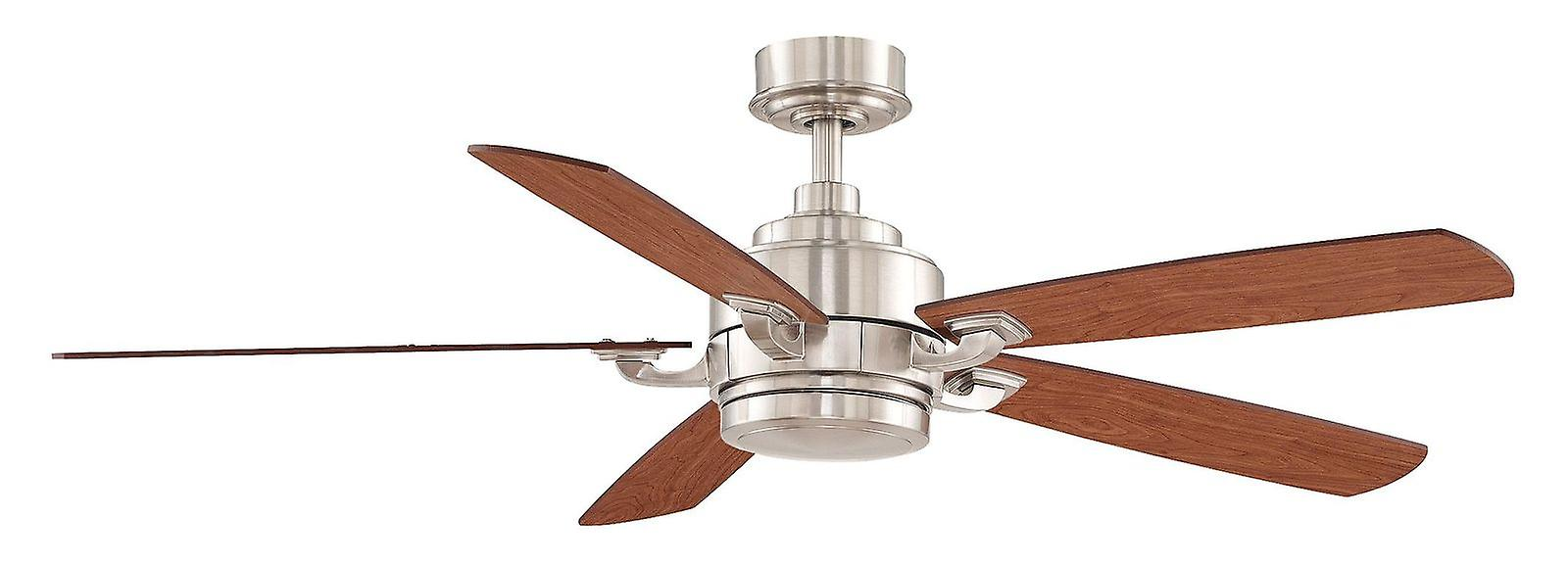 Ceiling fan THE BENITO 132cm   52& 034; Chrome with remote