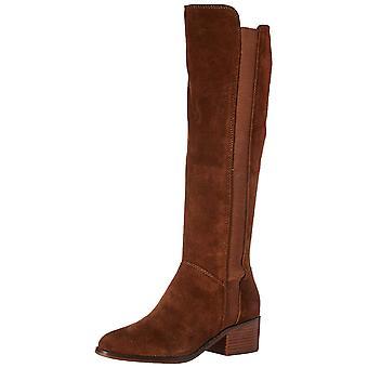 Steve Madden Womens Giselle cuoio scarpe chiuse Stivali moda ginocchio