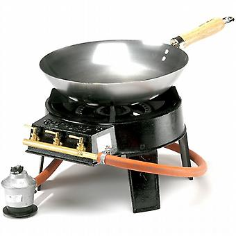 Hot Wok Original Set - 7.0Kw Outdoor Camping Stove and Wok