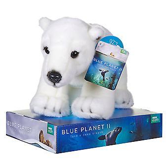 BBC Earth Plush Polar Bear 25cm