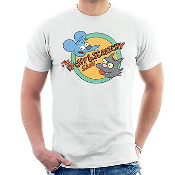 The Simpsons Itchy And Scratchy Show Men's T-Shirt