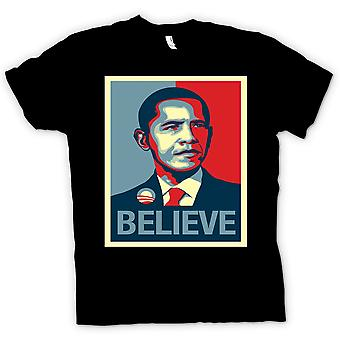 T-shirt - Obama Croyez-Change