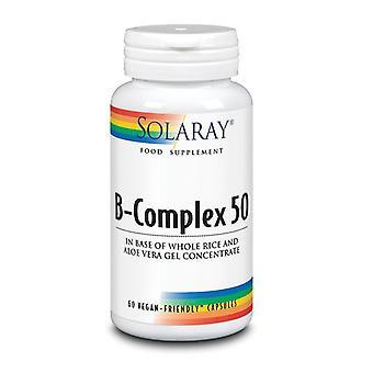 Solaray B-Complex 50 Capsules 60 (1016)