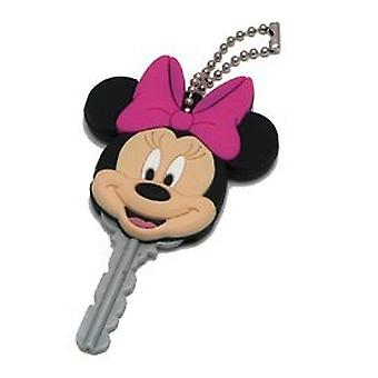 Key Cap - Disney - Minnie Mouse - PVC Die Cut Holder Gifts Toys New 21091