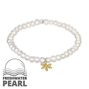 Sneeuwvlok - 925 Sterling zilveren ketting armbanden - W29023X