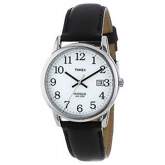 Timex Mens White Black Easy Reader T2H281 Watch