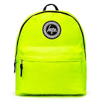 Hype Neon School Sports Gym Fashion Festival Backpack Rucksack Bag Green