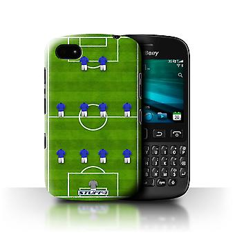STUFF4 Case/Cover voor Blackberry 9720/4-4-2/Blue/voetbal vorming