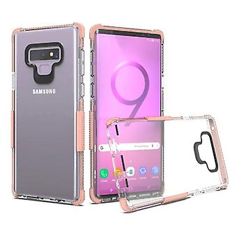 Transparent Clear/Rose Gold Bumper Claro Candy Skin Cover  for Galaxy Note 9