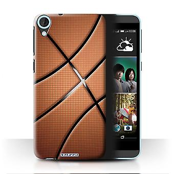 STUFF4 Case/Cover for HTC Desire 820q Dual/Basketball/Sports Balls