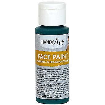 Handy Art Face Paint 2oz-Green 558-45
