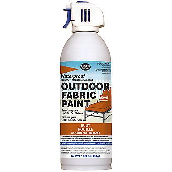 Outdoor Spray Fabric Paint 13.3oz-Rust OF0046-6M