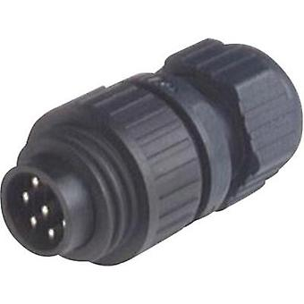Hirschmann 934 126-100 CA 6 LS CA Series Mains Voltage Connector Nominal current: 10 A/AC/DC Number of pins: 6 + PE