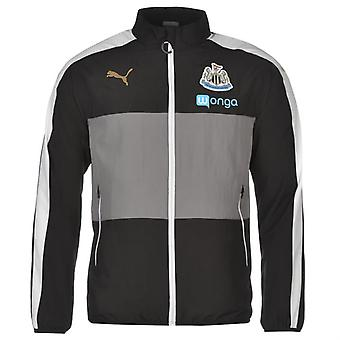 2016-2017 Newcastle Puma Leisure Jacket (Black) - barn
