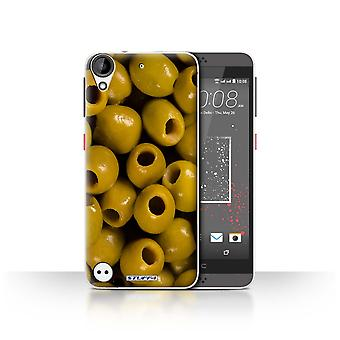 STUFF4 Case/Cover for HTC Desire 530/Olives/Food