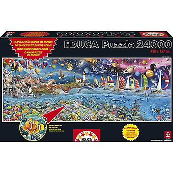 Educa Puzzle The Great Challenge 24000 Pieces (Toys , Boardgames , Puzzles)