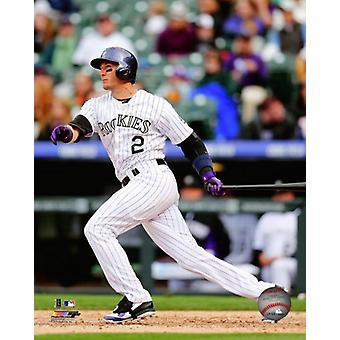 Troy Tulowitzki 2014 Action Photo Print