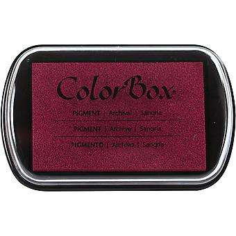 ColorBox Pigment Ink Pad-Sangria 150000-15240