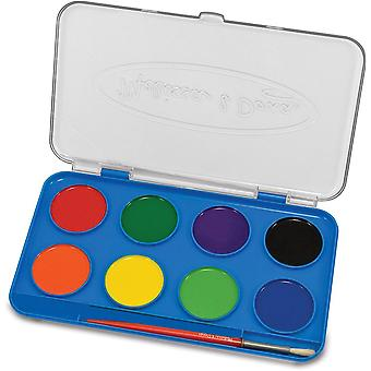 Melissa & Doug Jumbo aquarelle Set (8 couleurs)