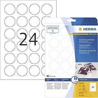 Herma 4234 Labels 40Mm Round